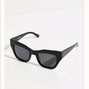 Free People polarized cat eye sunglasses